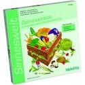Conjunto: Cesta de frutas y verduras Categorización