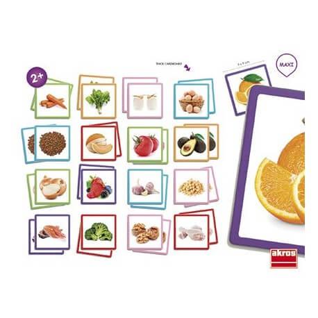 Maxi-memory alimentos sanos Memoria