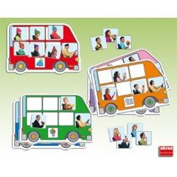 Autobús busca y completa