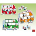 El autobús: busca y completa Atención