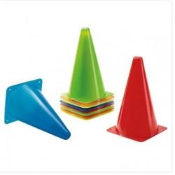 Set de conos en cinco colores