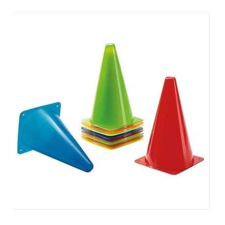 Set de conos en cinco colores Sets motricidad