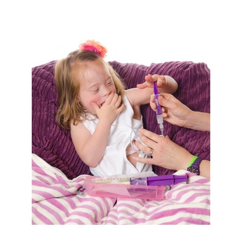 Body de apertura total para niños con movilidad muy reducida o sondas gástricas