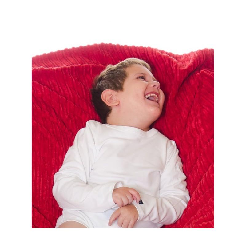 Body de manga larga adaptado para niños en situación de dependencia