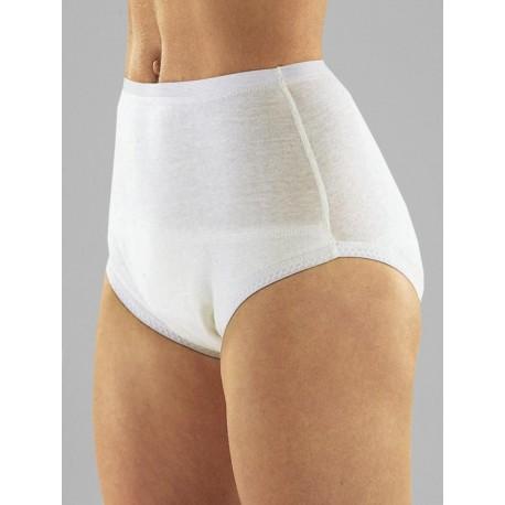 Braga alta impermeable protector incontinencia compresas Protectores incontinencia compresas