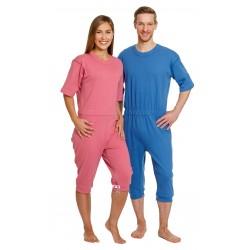 Pijama Incontinencia 4080 Dependiente - Algodón + Poliéster