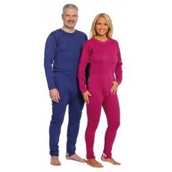 Pijama dependiente doble apertura largo