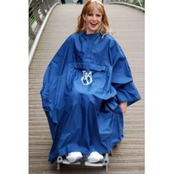 Capa de lluvia para silla de ruedas