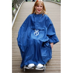 Capa para la lluvia para usuarios de silla de ruedas