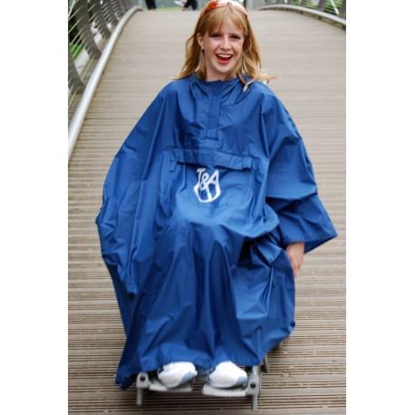 Capas impermeables y contra el frío para usuarios de silla de ruedas y scooters. - Poliomielitis - Personas WIP