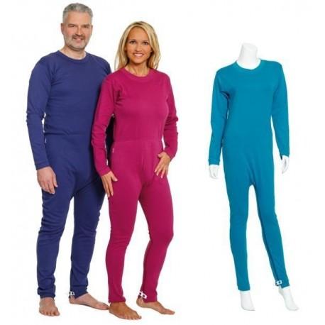 Pijama dependiente doble apertura largo PIJAMAS ANTIPAÑAL