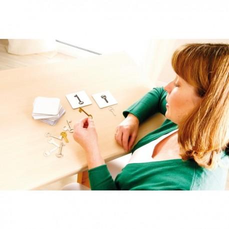 Encuentra las llaves, material de estimulación cognitiva en Personas WIP