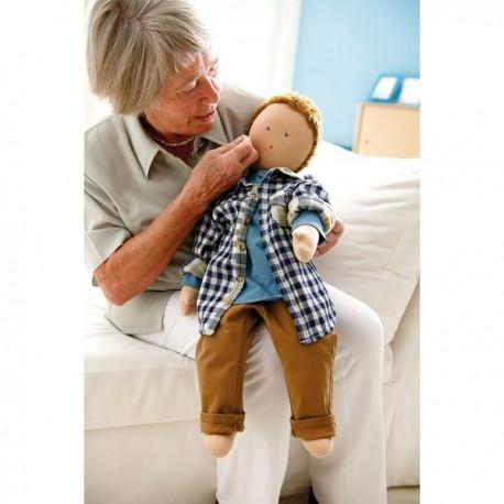 Muñeco de terapia Toni Discurso narrativo