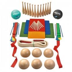 Set gimnasia de 52 piezas Sets motricidad