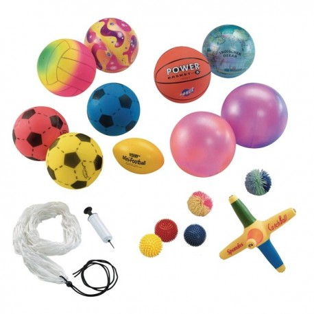 Surtidode balones y pelotas Sets motricidad