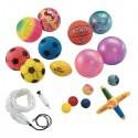 Surtidode balones y pelotas