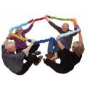Cinta elástica Juegos grupales y colaborativos
