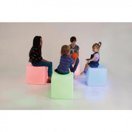 Cubo de LED SALAS SENSORIALES
