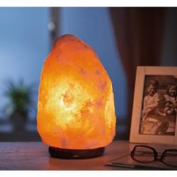Lámpara de cristal de sal
