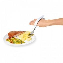Tenedor con pinza fácil agarre Cubiertos