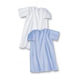 Camisón unisex hospitalario manga corta