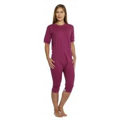 Pijama incontinencia dependiente doble apertura corto PIJAMAS una sola pieza