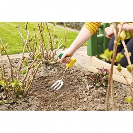Rastrillo jardín de mano pequeño Jardinería