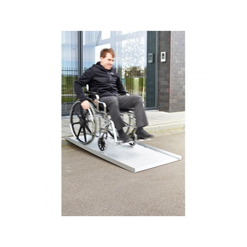 Rampas para acceso de usuarios con sillas de ruedas en Personas WIP