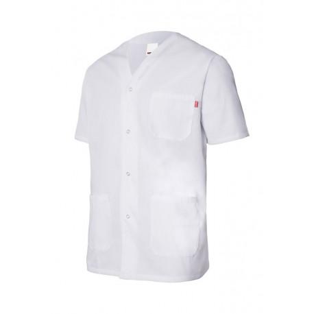 Chaqueta pijama manga corta y cuello en pico ROPA LABORAL