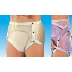 Protector compresa con ajustables y corchetes para incontinencia