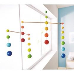 Bolas de arco iris Visual
