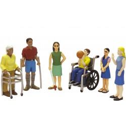 Figuras Discapacidades/Estuche INTELIGENCIA INTERPERSONAL