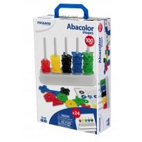 Abacolor Shapes 100 formas y 12 actividades. Maletín ABACOS y REGLETAS
