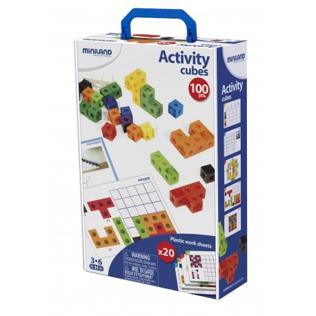 Activity Cubes ABACOS y REGLETAS