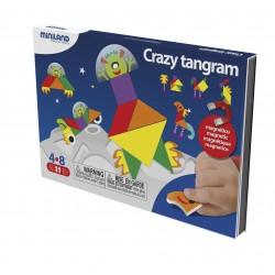 Crazy tangram magnético INTELIGENCIA VISUAL ESPACIAL