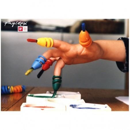 Pincel Fingermax Escolar de dedo - Fingermax SQ Bulk  MANUALIDADES