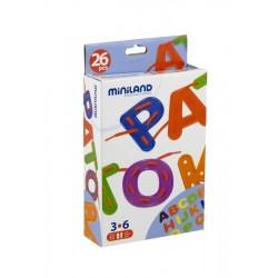 Letras alfabeto para coser 26 pcs. / estuche ALFABETOS, NUMEROS y LETRAS
