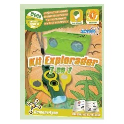 Kit Explorador 7 en 1 INTELIGENCIA NATURALISTA