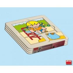 Pack 4 puzles Zaro Y Nita PUZLES