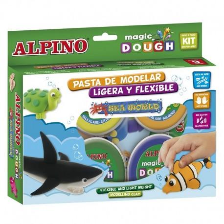 Magic Dough Alpino, kit Mundo marino MANUALIDADES