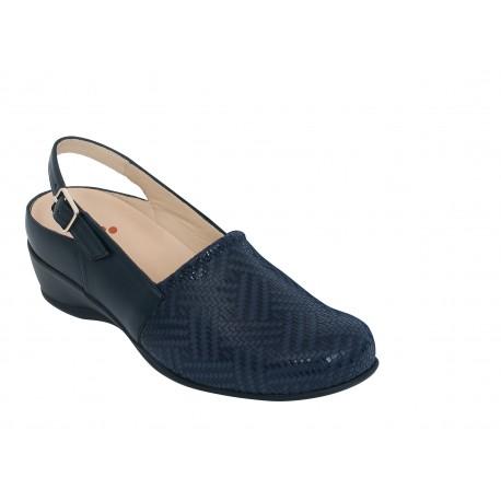 Zapato destalonado DENIA 2091 ZAPATOS DIABÉTICOS