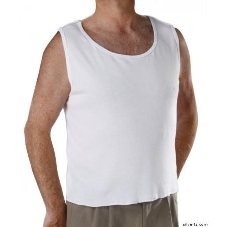 Camiseta interior adaptada con apertura trasera ROPA ADAPTADA 25% dto!