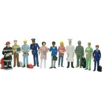 Figuras Oficios 11 Figuras/Estuche JUEGOS DE LENGUAJE