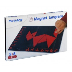 Magnetic Tangram INTELIGENCIA VISUAL ESPACIAL