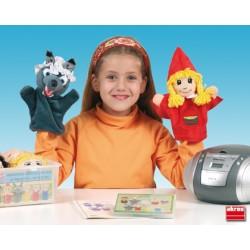 Marionetas caperucita roja y los tres cerditos