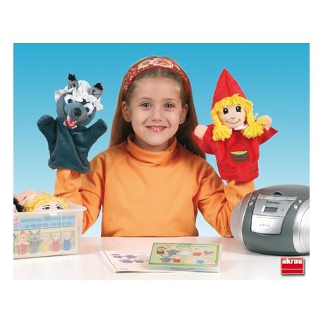 Marionetas caperucita roja y los tres cerditos TEATRO y MARIONETAS
