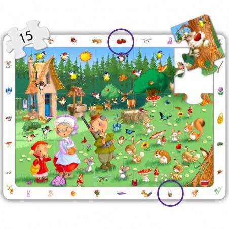 Set puzles observación cuentos clásicos PUZLES