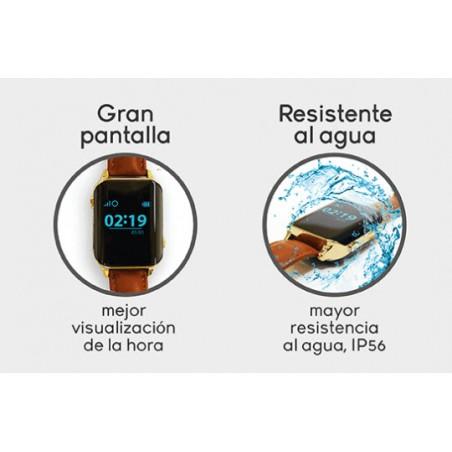Reloj Geolocalizador Nock Senior Impermeable GEOLOCALIZACIÓN