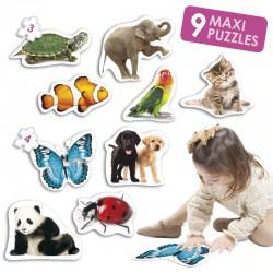 Baby puzles animales PUZLES