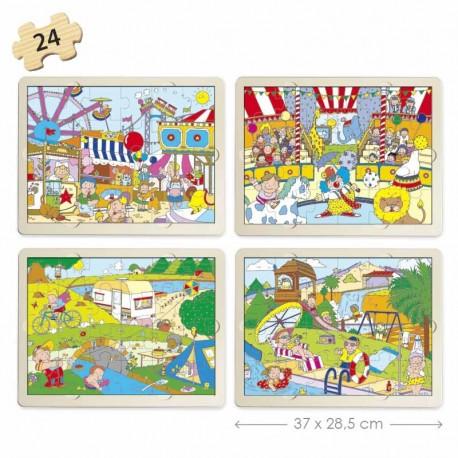 Set puzles tiempo libre PUZLES